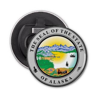 Alaska seal united states america flag symbol repu button bottle opener