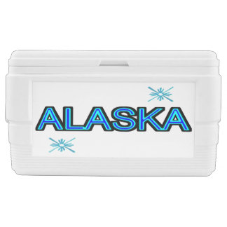 Alaska Snowflake Chest Cooler