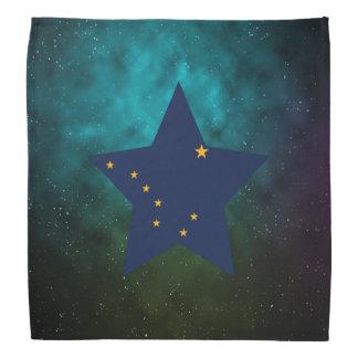 Alaska Star Design Flag Bandannas