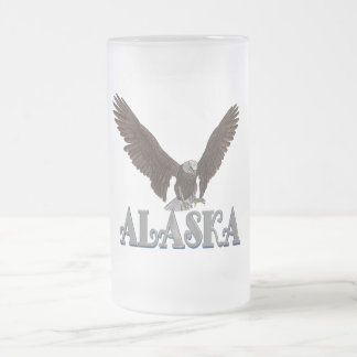 Alaska State Flag Eagle Coffee Mug