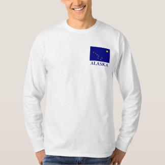 Alaska State Flag mens Long Sleeve T-shirt
