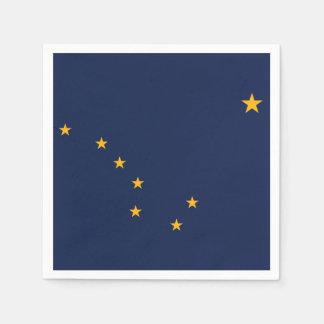 Alaska State Flag Paper Napkins