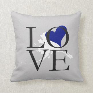 Alaska State Love Pillow