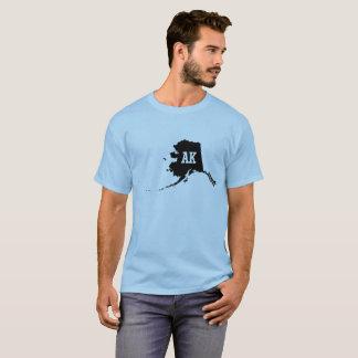 Alaska State Map AK Abbreviation Men's T-Shirts
