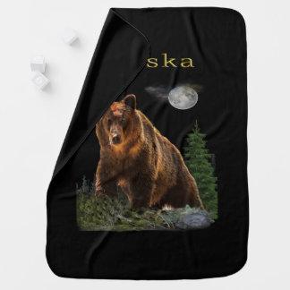 Alaska State merchandise Baby Blanket