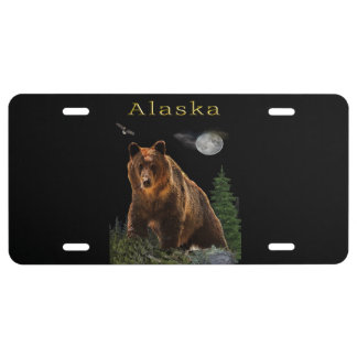 Alaska State merchandise License Plate