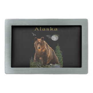 Alaska State merchandise Rectangular Belt Buckle