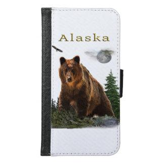 Alaska State merchandise Samsung Galaxy S6 Wallet Case