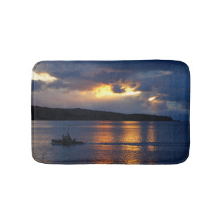 Alaska Sunset Bath Mat