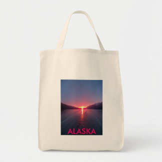 Alaska Sunset Tote Bag