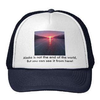 Alaska Sunset Trucker Hat
