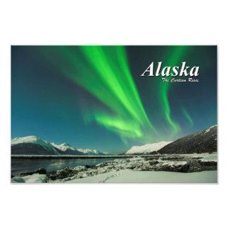 Alaska The Curtain Rises Photo Print