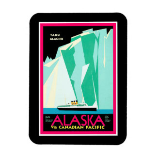 Alaska Travel Magnet
