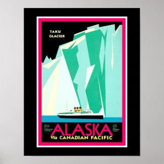 Alaska Travel Poster