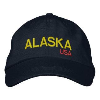 Alaska* USA Adjustable Hat