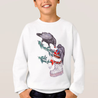 Alaska Whimsical Christmas Wildlife Sweatshirt
