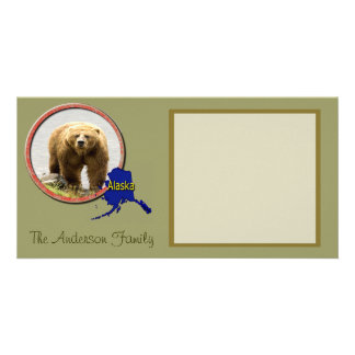 Alaska Wildlife Custom Photo Card