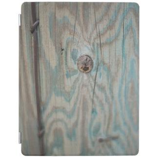 Alaska wooden light pole iPad cover