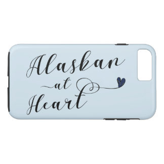 Alaskan At Heart Cell Phone Case