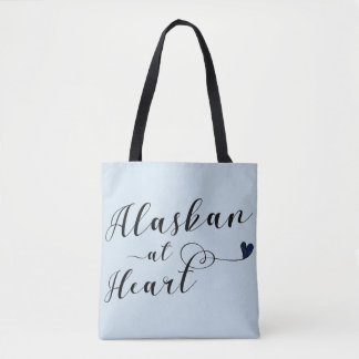 Alaskan At Heart Grocery Bag
