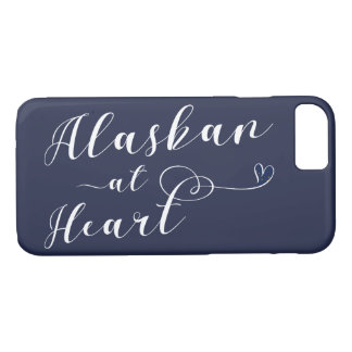 Alaskan At Heart Mobile Phone Case