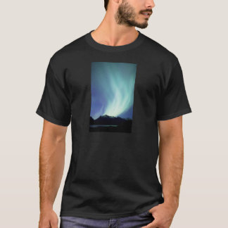 Alaskan aurora borealis lights in the night sky T-Shirt