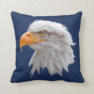 Alaskan Bald Eagle Pillow (Navy)