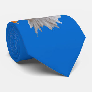 Alaskan Bald Eagle Tie Double Sided (Blue)