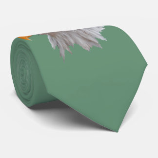 Alaskan Bald Eagle Tie Double Sided (Green)