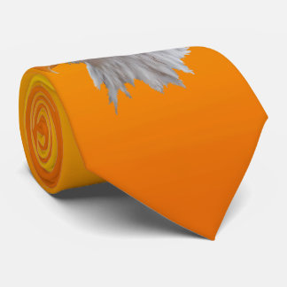 Alaskan Bald Eagle Tie Double Sided(Yellow/Orange)