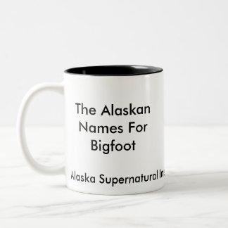 Alaskan Bigfoot MUG