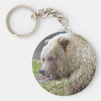 Alaskan Brown Bear Keychain