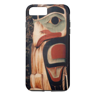 Alaskan Carved Totem Pole Designed iPhone 8 Plus/7 Plus Case