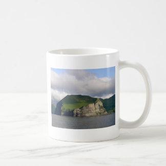Alaskan Cliffs Landscape Classic White Coffee Mug