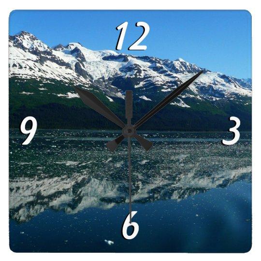 Alaskan Coastline Beautiful Nature Photography Clocks