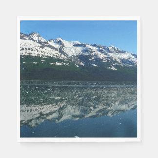 Alaskan Coastline Beautiful Nature Photography Disposable Napkin