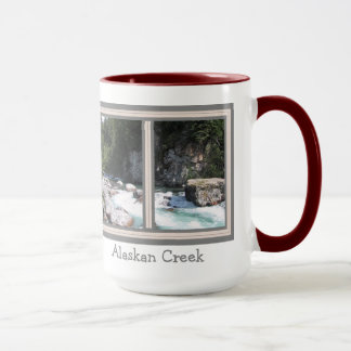 Alaskan Creek Scenic Window Jumbo Mug