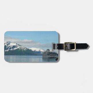 Alaskan Cruise Vacation Travel Photography Luggage Tag