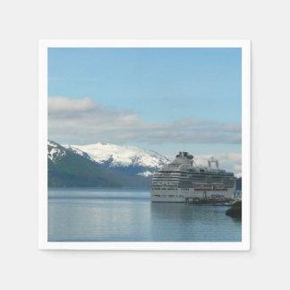 Alaskan Cruise Vacation Travel Photography Napkin