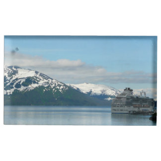 Alaskan Cruise Vacation Travel Photography Table Number Holder