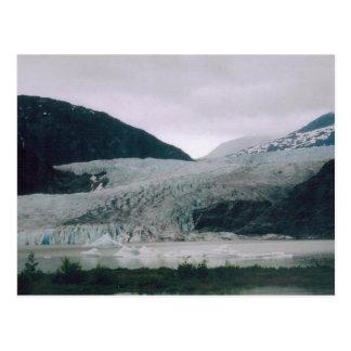 Alaskan Glacier Postcard