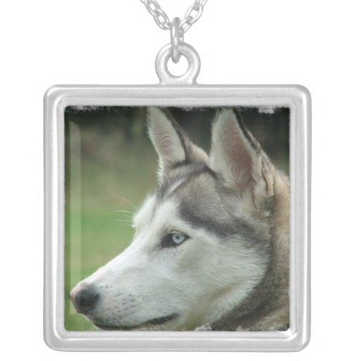 Alaskan Husky Dog Necklace