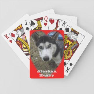 Alaskan Husky Playing Cards
