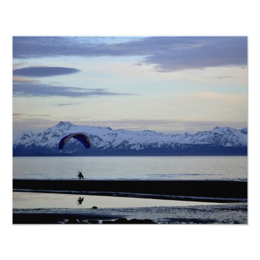 Alaskan Into the Sunset Photograph