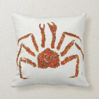 """Alaskan King Crab - Poly 16"""" x 16"""" Pillow"""