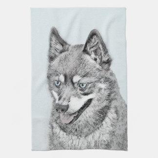 Alaskan Klee Kai Hand Towels