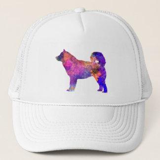 Alaskan Malamute 01 in watercolor 2 Trucker Hat