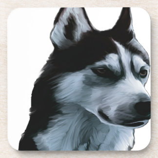Alaskan Malamute Artwork Coaster