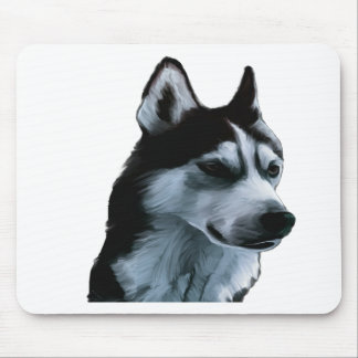 Alaskan Malamute Artwork Mouse Pad