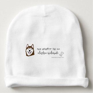 alaskan malamute baby beanie